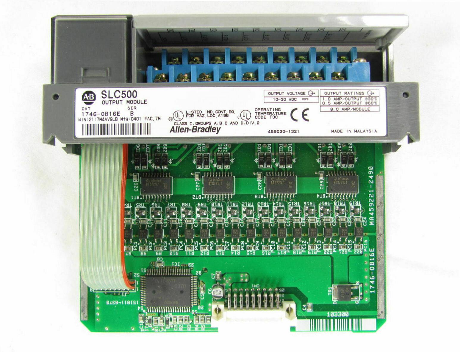 直流输出模块: 1746-OB16E