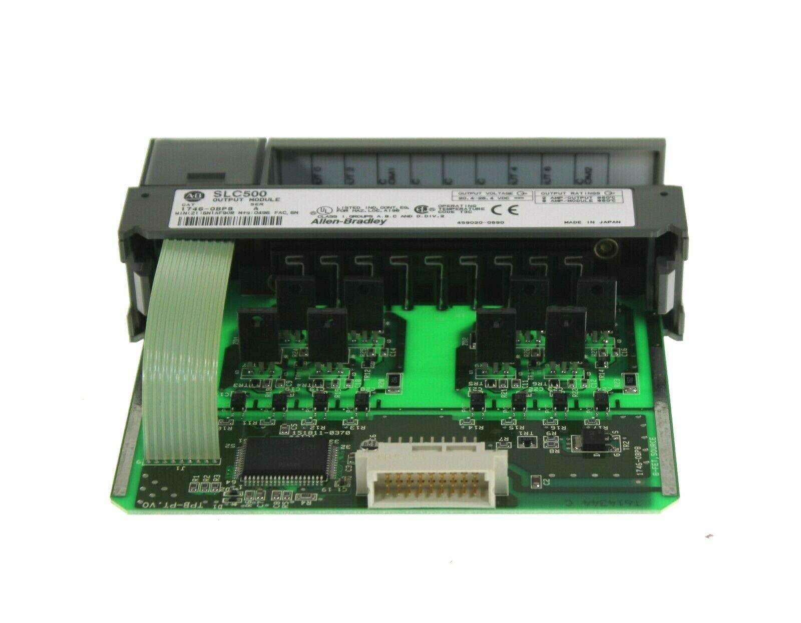 1746-OBP8A 8点数字量输出模块SLC 8 Point Digital Output Module