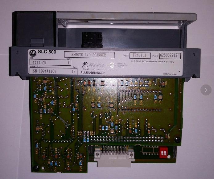 1747-SN 远程 I/O 扫描器模块